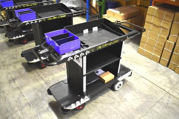 STURGO Electric Housekeeping Trolley_linen handling_landing page